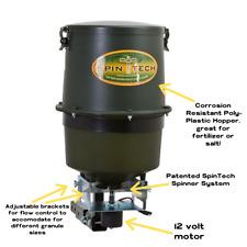 100 Lb Corrosion Resistant Multi-Spreader; Great for Seed, Salt, and Fertilizer