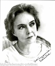 """LILLIAN GISH (DECEASED) SIGNED 8X10 """"GREATEST ACTRESS"""" INSCRIBED JSA #N38941"""