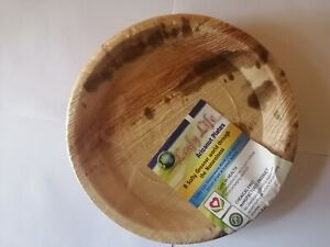 Best Quality Natural 6 Psc Aricanut Leaves Plate Set Eco Friendly Sri Lanka