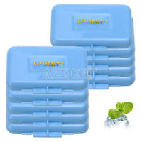 100 Kits Dental Orthodontic Mint Scent Wax for Bracket Braces Gum Irritation