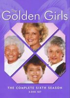 The Golden Girls - The Complete Sixth Season 6 (DVD, 2006, 3-Disc Set) Very Good