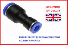 12 mm A 8mm reducir Conector Neumática empuje en
