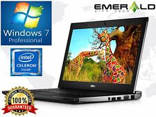 "Dell Latitude Laptop PC 13.3"" Intel Celeron 4GB 320GB HDD Windows 7 Pro Webcam"