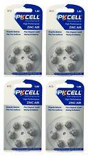 24 x A13 / PR48 Hörgeräte-Batterie (4 Blistercard = 24 Batterien) PKCELL