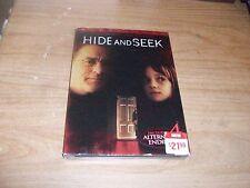 Hide and Seek (DVD Movie, 2005, WS) Robert De Niro Includes Slipcover Horror NEW
