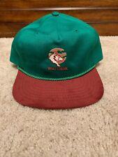Vintage Wolf Creek Adjustable Hat Suede Novelty