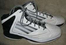 Adidas ADIZERO GHOST 2 Women's Size 10 Basketball Shoes G56960 WHITE BLACK