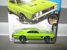 Hot wheels 69 Dodge Charger 500 Lime Green 84/250 mint boxed 2015