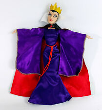 "Disney Store Snow White Evil Queen Villain Witch 11"" Doll - Classic Collection"