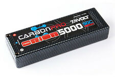 TEAM ORION ORI14043 Carbon Pro LiPo Battery 5000mAh 90C 7.4V 2s ,Tubes