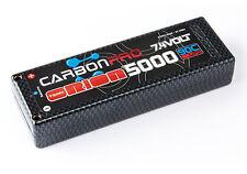 TEAM ORION ORI14043 Carbon Pro LiPo Battery 5000mAh 90C 7.4V 2s ,Tubes
