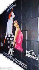 jacques demy  TROIS PLACES POUR LE 26 !  y montand affiche cinema geante 4x3m