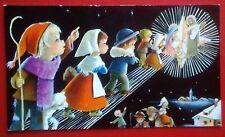 estampa felicitacion navidad CONSTANZA años 70 holy card chritsmas