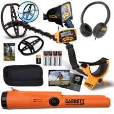 Garrett Ace 400 Metal Detector With Pro Pointer At Waterproof Pinpointer Amp More