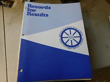 Nos 1970's Ford Records For Results For Service Department Training Manual