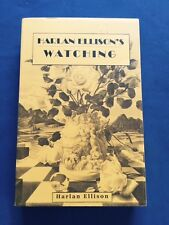 HARLAN ELLISON'S WATCHING - UNCORRECTED PROOF SIGNED BY HARLAN ELLISON
