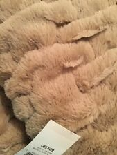 Martha Stewart Style Msquil T Throw Color Wheat Flour 60x50