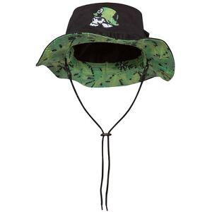 Metal Mulisha Mens Undercover Bucket Hat Size M/L