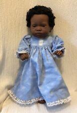 Furga Italy 1988 Anatomically Correct Black African American Girl Doll