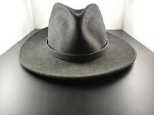 Western Leather Hatband Hat Band Belt SOLID BLACK Cowboy Cowgirl Rodeo Horse