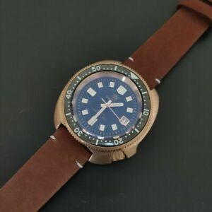 """STEELDIVE SD1970S """"BRONZE CAPTAIN WILLARD"""" Dive Watch *UK SELLER* *FREE STRAP"""""""