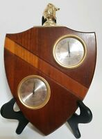 Mid Century AIRGUIDE Weather Station Barometer Humidity Thermometer Chicago USA