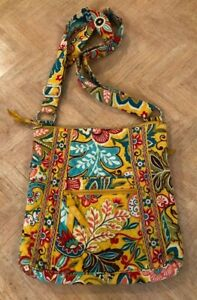 VERA BRADLEY PROVENCAL LARGE HIPSTER CROSSBODY SHOULDER BAG OR PURSE