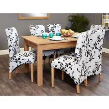 Rectangular Contemporary Dining Tables Sets 7 Pieces