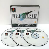 Final Fantasy VII 7 ~ Sony PlayStation PS1 Black Label *Very Good no Manual*