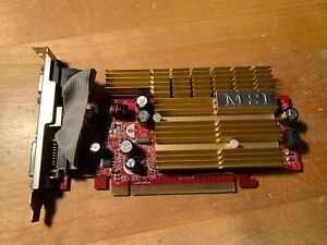 MSI 7300LE 128MB GDDR2 PCI-E Graphics Card- NX7300LE-TD128EH - Tested & Working!