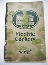 Hotpoint 1928 Electric Ranges Electric Cookery Vtg Instruction and Recipe Book