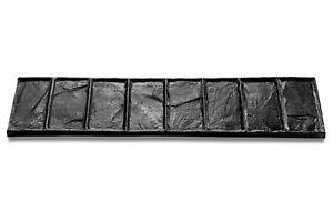 Cut Stone Border Concrete Imprint Mat - 86.5cm x 21.5cmj