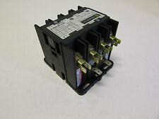 SQUARE D CONTACTOR DPA24 TYPE OPEN 4 POLE COIL 208-240 VOLTS 25 FLA NEW