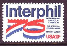 AT FACE! #1632 INTERPHIL 1976. WHOLESALE LOT OF (200) MINT SINGLES F-VF NH!