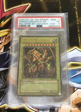 Yugioh The Winged Dragon Of Ra GBI-003 Ultra Rare Gold Edition Promo PSA:5