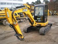 JCB 8055 8065 Midi Excavator Workshop Service Repair  Manual
