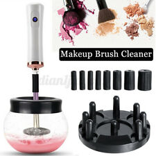 12PC Electric Makeup Cosmetic Brushes Washing Cleaner and Dryer Machine Tool