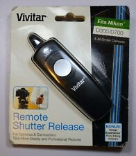 Vivitar Remote Shutter Release for Nikon (10 Pin Connector)