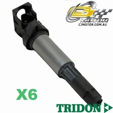 TRIDON IGNITION COIL x6 FOR BMW  325i E90 07/05-06/10, 6, 2.5L N52 B