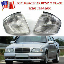 Driver&Passenger Corner Light Parking Lamp Fit 94-00 Mercedes Benz C Class W202