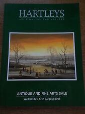 Hartleys Antique Auction Catalogue Decorative Arts incl BA Shields BRAAQ Picture
