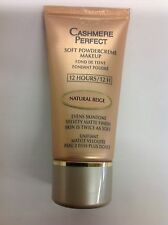 L'Oreal Cashmere Perfect Soft PowderCreme foundation NATURAL BEIGE NEW.
