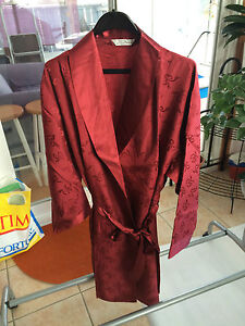Women Lady Sexy 100% Silk Comfy Robe with Belt Pajama Sleepwear Nightwear