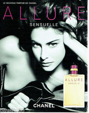 PUBLICITE ADVERTISING 046  2006  Chanel  parfum Allure Sensuelle