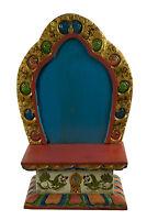 Tempio Tibetano Altare Scatola Per Soprammobile Budda Tibet 33X21CM 2841 - Eta
