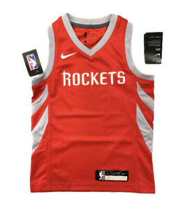 Nike Youth Houston Rockets NBA Jersey Red Youth Size S