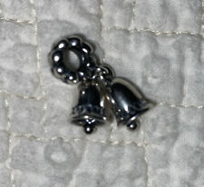 Authentic Pandora Silver Bells Dangle Charm 791230