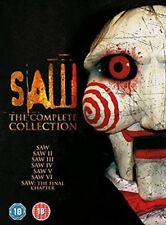Saw 1-7 The Complete Collection DVD 2016 5055761908923