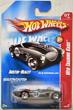 HOT WHEELS 2008 WEB TRADING CARS AUSTIN - HEALEY SILVER