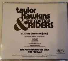 Louise by Taylor Hawkins & The Coattail Riders Thrive Records 2006 Single Promo